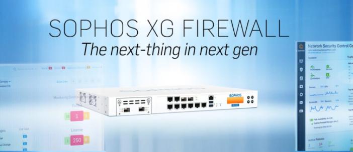 Sophos XG Firewall Tulsa